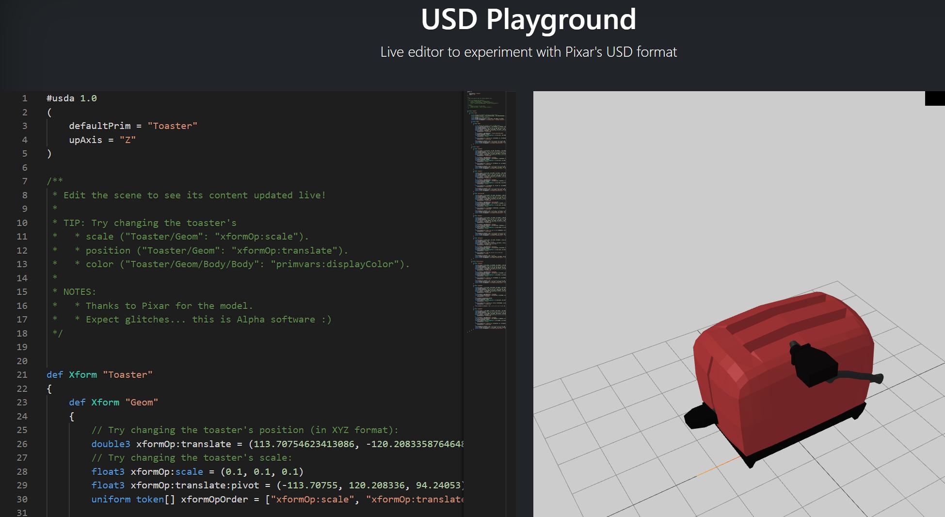 USD Playground